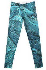 Aquatic Life 2 Leggings