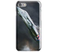Tornado fighter jet full after burner iPhone Case/Skin