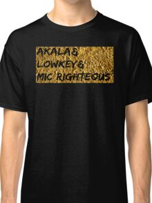 Akala & Lowkey & Mic Righteous UK music (T-shirt, Phone Case & more) Classic T-Shirt