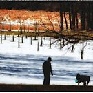 A Man and His Dog  by ArtbyDigman