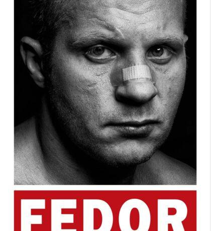 Fedor Emelianenko Sticker