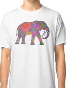 Psychedelic Elephant Classic T-Shirt