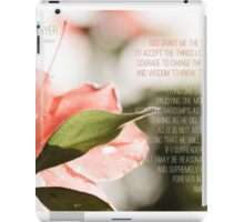 Serenity Prayer iPad Case/Skin