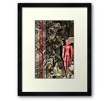 take it for red Framed Print