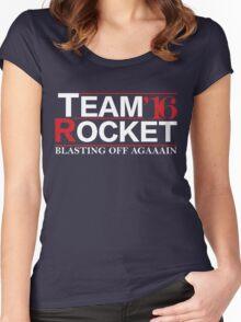 Team Rocket '16 Women's Fitted Scoop T-Shirt