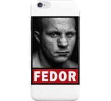Fedor Emelianenko iPhone Case/Skin
