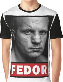 Fedor Emelianenko Graphic T-Shirt
