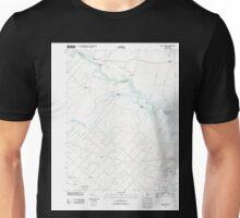 USGS TOPO Map New Jersey NJ Green Bank 20110426 TM Unisex T-Shirt