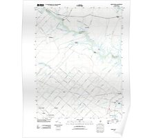 USGS TOPO Map New Jersey NJ Green Bank 20110426 TM Poster