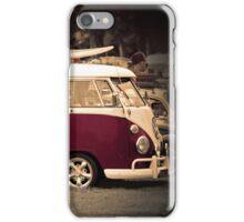 Camper van Surfs up iPhone Case/Skin