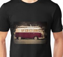 Camper van Surfs up Unisex T-Shirt