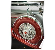 Duesenberg Spare Tire  Poster