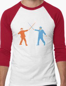 Dumb and Dumber On Guard!  Men's Baseball ¾ T-Shirt