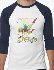 Barbarella Retro Movie Poster - Japanese Edition Men's Baseball ¾ T-Shirt