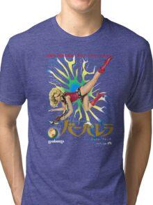 Barbarella Retro Movie Poster - Japanese Edition Tri-blend T-Shirt