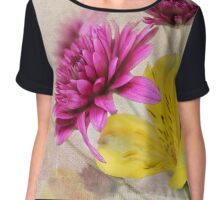 Fresh Flowers Chiffon Top
