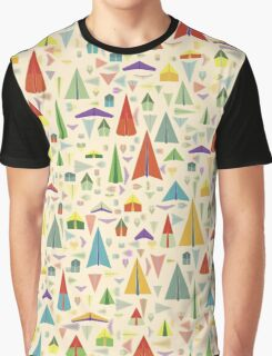 Paper Airplane 60 Graphic T-Shirt