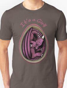Dragon Egg - It's a Girl Gender Reveal T-Shirt