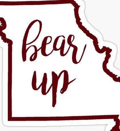 Bear Up Missouri State Sticker