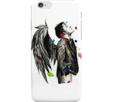 Misha Collins - The Real Life Angel 2 iPhone Case/Skin
