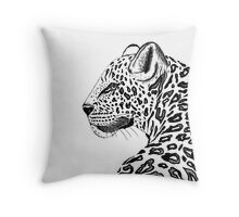 Amur Leopard by Ivy's Art Throw Pillow