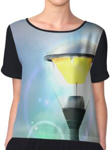 Circles in the sky Chiffon Top