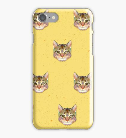 Cat Vector iPhone Case/Skin