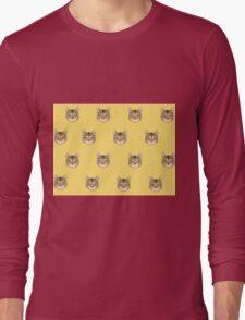 Cat Vector Long Sleeve T-Shirt