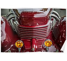 Cord Grill with Fog Lights Poster