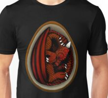 Dragon Egg - Red and Orange Unisex T-Shirt