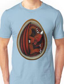 Dragon Egg - Red and Orange Unisex T-Shirt