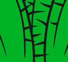 sand desert thorn flowerpot cactus desert design large green cool Sticker