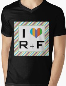 I love R + F Independent consultant  Mens V-Neck T-Shirt