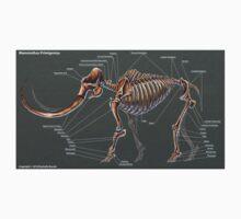 Mammuthus Primigenius Skeletal Study Kids Tee