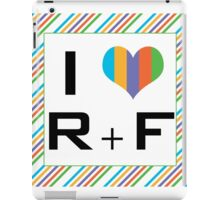 I love R + F Independent consultant  iPad Case/Skin