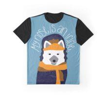 Arctic Fox by Darah King Graphic T-Shirt