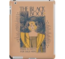 Artist Posters The black book price 25 cents for sale here 0400 iPad Case/Skin