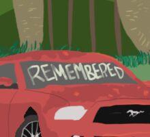 Noah Czerny - Remember Sticker