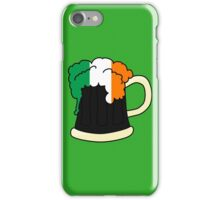 Irish Beer Stickers iPhone Case/Skin