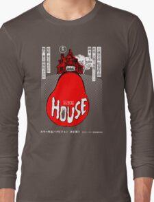 House Poster Tee (1977 Japanese film) Long Sleeve T-Shirt