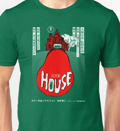 House Poster Tee (1977 Japanese film) Unisex T-Shirt