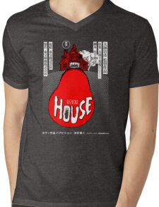 House Poster Tee (1977 Japanese film) Mens V-Neck T-Shirt