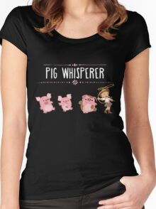 Pig Whisperer Women's Fitted Scoop T-Shirt