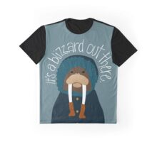 Walrus by Darah King Graphic T-Shirt