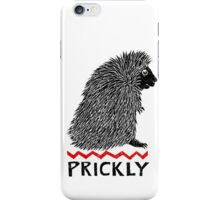 Prickly Porcupine iPhone Case/Skin