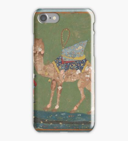 Composite Camel with Attendant iPhone Case/Skin
