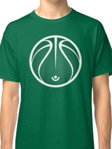 Vector Basketball Halftone Classic T-Shirt