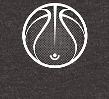 Vector Basketball Halftone Unisex T-Shirt