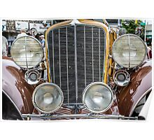 Auburn Grill and Headlights 2 Poster
