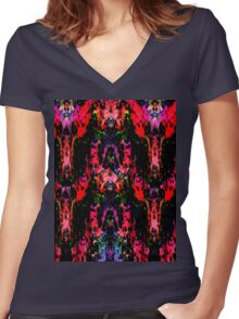 Nightmares Women's Fitted V-Neck T-Shirt